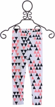 Joah Love Triangle Capri Leggings (3,4,5,6)