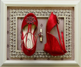 Joyfolie Arabella Heel in Crimson (10,11,1Y,3Y)