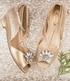 Joyfolie Girls Arabella Heel Gold (Size 10) Alternate View #2