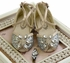 Joyfolie Girls Aubree Flat in Silver (8 & 2Y) Alternate View #2