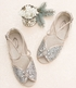 Joyfolie Girls Aubree Flat in Silver (8 & 2Y) Alternate View #3