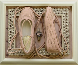 Joyfolie Kira Lace Up Flat in Blush (10,11,12)