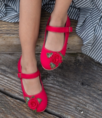 Joyfolie Lola Mary Jane in Red SOLD OUT