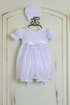 Katie Rose Ashley Girls Bloomer Dress in White (Size 9Mos) Alternate View