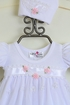 Katie Rose Ashley Girls Bloomer Dress in White (6Mos & 9Mos) Alternate View #2