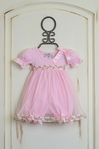 Katie Rose Baby Pink Bloomer Dress Bree (Size 9Mos)
