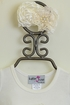 Katie Rose Cream Infant Romper with Headband Alternate View #2