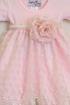 Katie Rose Fancy Baby Dress in Pink SOLD OUT Alternate View #2