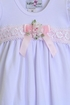 Katie Rose Girls Baby Gown with Short Sleeves Alternate View #2