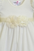 Katie Rose Girls Vintage Lace Romper Ivory (Size 9Mos) Alternate View #2