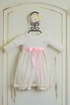 Katie Rose Infant Bloomer Dress in Ivory Abby (Size 9Mos) Alternate View