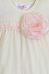 Katie Rose Infant Bloomer Dress in Ivory Abby (Size 9Mos) Alternate View #2