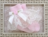 Katie Rose Infant Lace Socks in Pink and Cream Alternate View