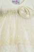 Katie Rose Ivory Baby Bloomer Dress with Flowers Alternate View #2