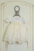Katie Rose Ivory Lace Baby Girls Dress  Alternate View
