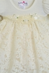 Katie Rose Ivory Lace Baby Girls Dress  Alternate View #2