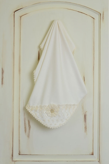 Katie Rose Luxury Baby Blanket for Girls with Lace