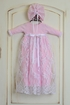 Katie Rose Newborn Take Home Gown Pink Leila Alternate View