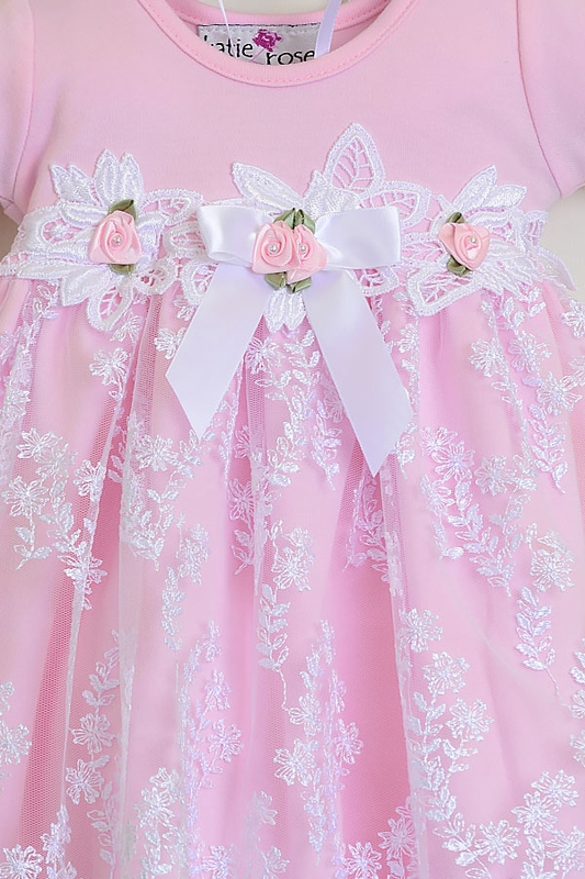 Newborn Katie Rose Take Home Gown Pink Leila Get It Here