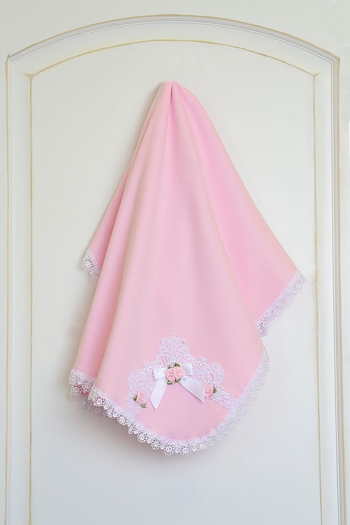 Katie Rose Pink Baby Blanket Leila SOLD OUT