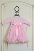 Katie Rose Pink Bloomer Dress for Baby Girls in Long Sleeve Alternate View