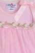 Katie Rose Pink Bloomer Dress for Baby Girls in Long Sleeve Alternate View #2