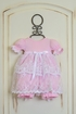 Katie Rose Pink Lace Baby Dress Alternate View