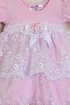Katie Rose Pink Lace Baby Dress Alternate View #2