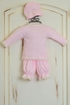 Katie Rose Pink Newborn Take Me Home Outfit (Size Newborn) Alternate View