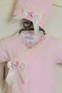 Katie Rose Pink Newborn Take Me Home Outfit SOLD OUT Alternate View #2