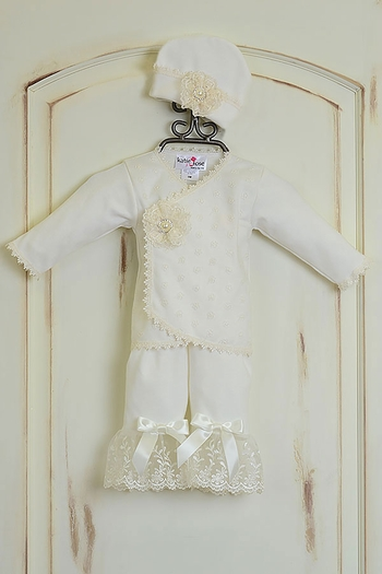Katie Rose Take Me Home Outfit Vintage Lace (Size Newborn)