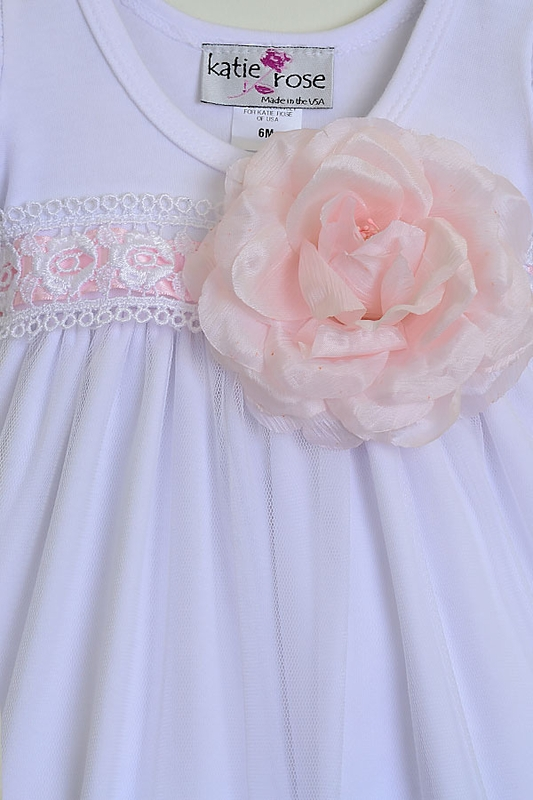 Girls Katie Rose White Baby Dress Special Occasion Buy Here