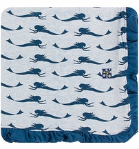 Kickee Pants Mermaid Stroller Blanket
