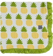 Kickee Pants Pineapple Blanket Stroller