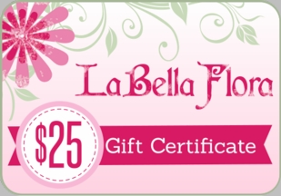 LaBella Flora Childrens Boutique Gift Certificate $25