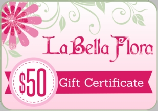 LaBella Flora Childrens Boutique Gift Certificate $50