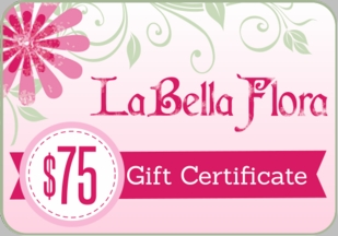 LaBella Flora Childrens Boutique Gift Certificate $75