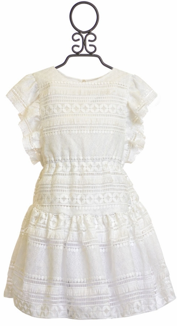 Lace Filled with Grace White Dress (Size 14)