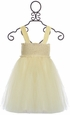 Le Pink Off White Castle Sequin Dress for Girls (Size 4) Alternate View