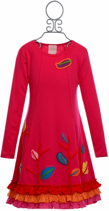Lemon Loves Lime Forest Dress for Girls (2 & 5)