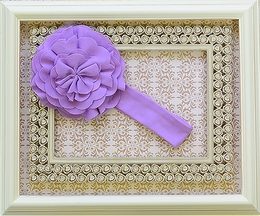 Lemon Loves Lime Lilac Infant Headband