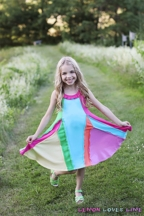 Lemon Loves Lime Over the Rainbow Dress (Size 4)