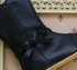 Livie and Luca Girls Leather Boots in Navy Blue (4i & 5) Alternate View