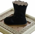 Livie and Luca Girls Leather Boots in Navy Blue (4i & 5) Alternate View #2
