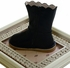 Livie and Luca Girls Leather Boots in Navy Blue (4i & 5) Alternate View #3