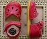 Livie and Luca Petal Shoes in Hot Pink (4i,8,2Y,3Y) Alternate View