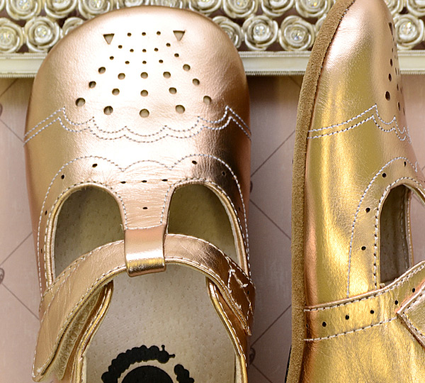 917e8f84698c ... Livie and Luca Rose Gold Shoes Metallic INFANT (Size 18-24Mos) Alternate  View
