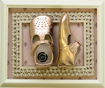 Livie and Luca Rose Gold Shoes Metallic INFANT (Size 18-24Mos)