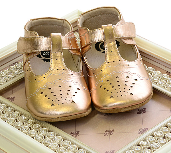 2975436854fc Livie and Luca Rose Gold Shoes Metallic INFANT (Size 18-24Mos) Alternate  View ...