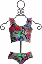 Lulita Two Piece Girls Swimsuit Butterfly (4 & 5)